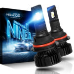 NINEO 9007 LED Headlight Bulbs CREE Chips 12000Lm Extremely Bright 360 Degree Adjustable_01